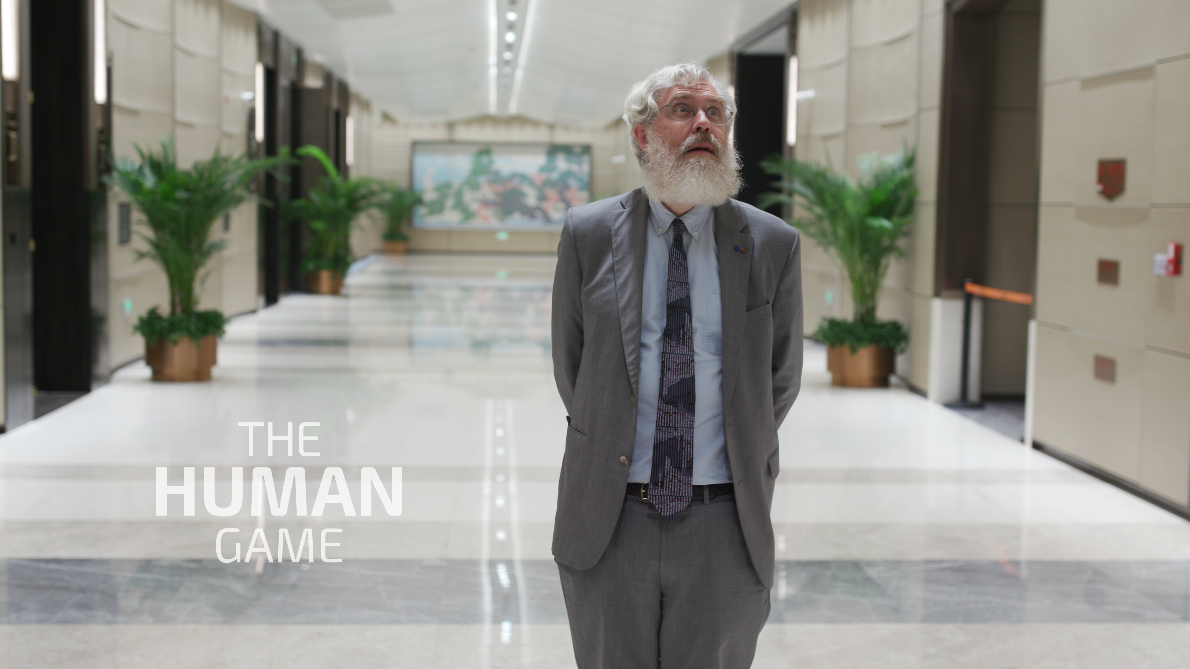 George Church in hall in China